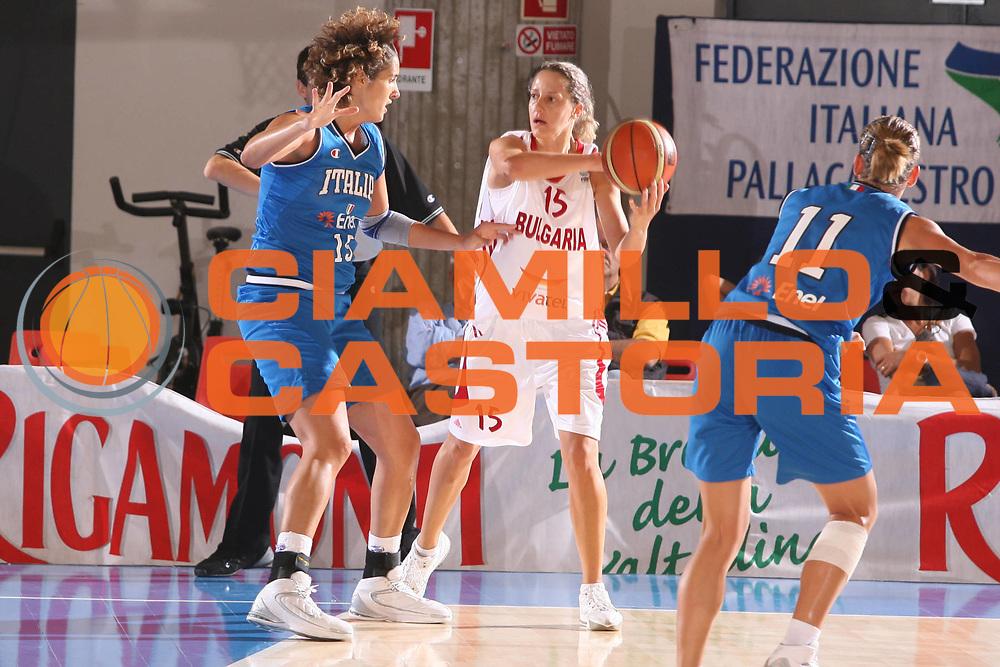 DESCRIZIONE : Bormio Torneo Preparazione Europei Nazionale Femminile 2007 Italia Bulgaria <br /> GIOCATORE : Dubravka Dacic Asenova <br /> SQUADRA : Bulgaria <br /> EVENTO : Torneo Preparazione Europei Nazionale Femminile 2007 <br /> GARA : Italia Bulgaria <br /> DATA : 12/08/2007 <br /> CATEGORIA : <br /> SPORT : Pallacanestro <br /> AUTORE : Agenzia Ciamillo-Castoria/G.Ciamillo