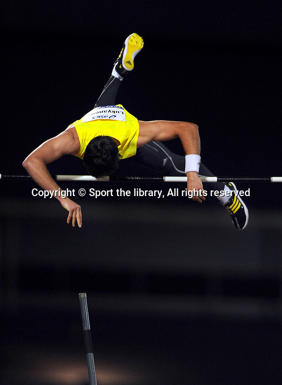 Evgeniy Lukyanenko (RUS) Pole Vault<br /> 2009 IAAF World Athletics Tour<br /> Melbourne Grand Prix Meet<br /> Olympic Park, AUS/March 5th<br /> &copy; Sport the library / Jeff Crow