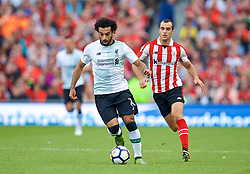 DUBLIN, REPUBLIC OF IRELAND - Saturday, August 5, 2017: Liverpool's Mohamed Salah during a preseason friendly match between Athletic Club Bilbao and Liverpool at the Aviva Stadium. (Pic by David Rawcliffe/Propaganda)