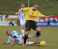 Fotball<br /> England 2004/2005<br /> Foto: SBI/Digitalsport<br /> NORWAY ONLY<br /> <br /> Coca Cola Championship<br /> 03/01/2005<br /> <br /> Brighton v Watford<br /> <br /> Watfords Paul Devlin escapes his marker.