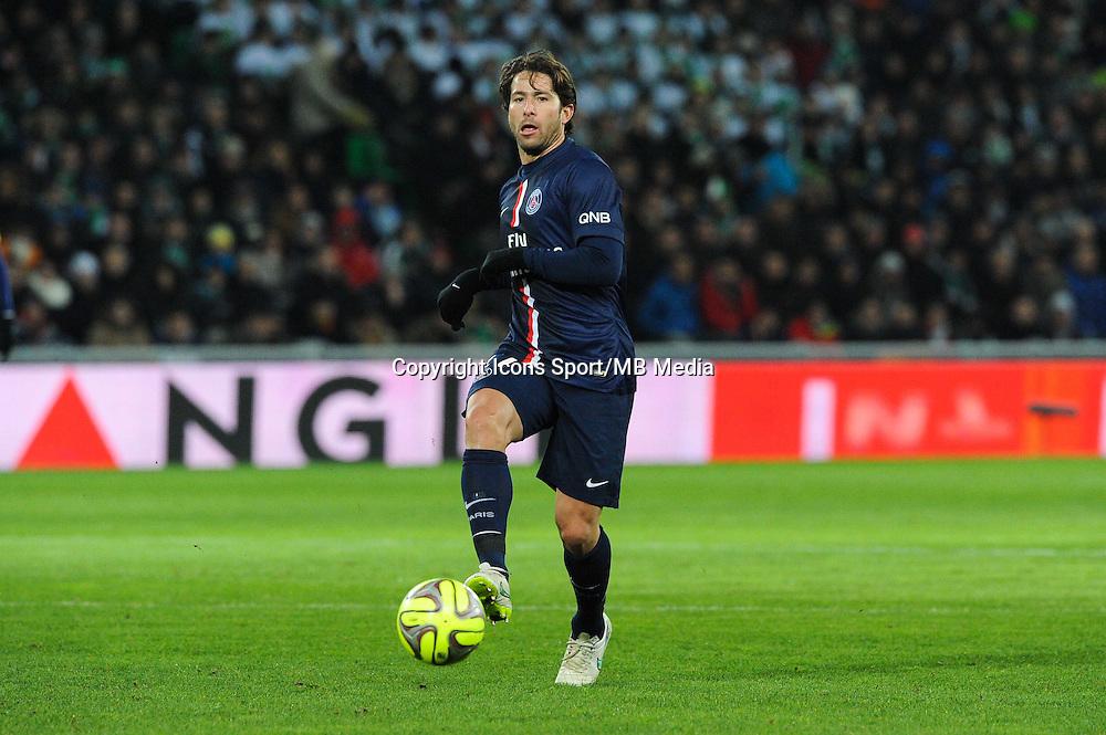 MAXWELL - 25.01.2015 - Saint Etienne / PSG - 22eme journee de Ligue1<br /> Photo : Jean Paul Thomas / Icon Sport