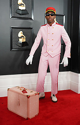 January 26, 2020, Los Angeles, California, United States: 62nd Annual GRAMMY Awards held at The Staples Center - Arrivals..Featuring: Tyler, the Creator.Where: Los Angeles, California, United States.When: 26 Jan 2020.Credit: CFCover Images (Credit Image: © Cover Images via ZUMA Press)
