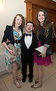 Elaine Murphy, NUIG, Dara Geraghty, snipe training centre and Lucy McKenna NUIG at the Ability West Best Buddy Ball and award night at the Menlo Park Hotel Galway. Photo:Andrew Downes.