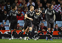 Photo: Rich Eaton.<br /> <br /> Aston Villa v Manchester City. The Barclays Premiership. 29/11/2006. Darius Vassell 2nd right celebrates his first half goal