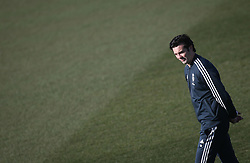 February 8, 2019 - Madrid, Spain - Real Madrid's Argentinian coach Santiago Solari attends a training session at the club's training ground in the outskirts of Madrid on February 8, 2019 Before The Liga match against Atletico Madrid. (Credit Image: © Raddad Jebarah/NurPhoto via ZUMA Press)