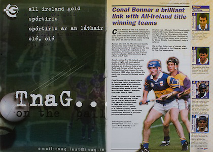 All Ireland Senior Hurling Championship - Final, .14.09.1997, 09.14.1997, 14th September 1997, .14091997AISHCF,.Senior Clare v Tipperary .Tipperary 2-16, Wexford 0-15,.Minor Clare v Galway, ..TnaG,
