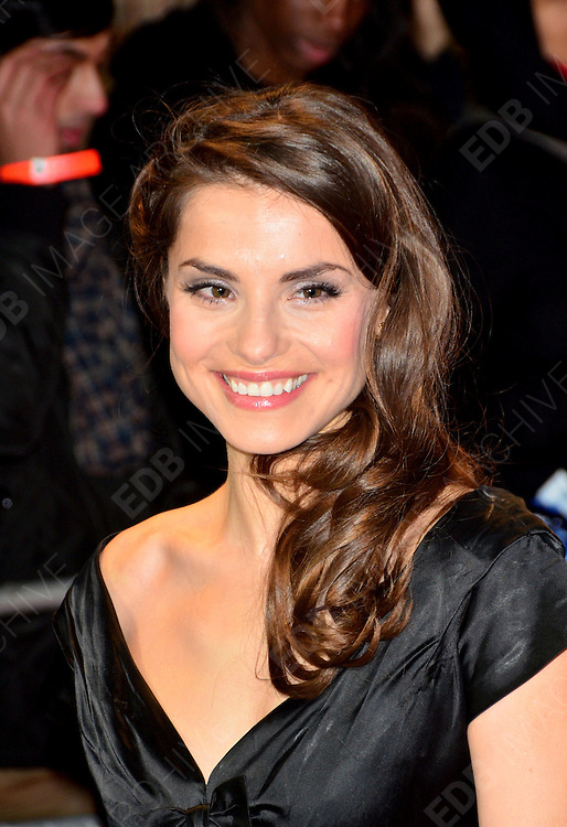 30.JANUARY.2012. LONDON<br /> <br /> CHARLOTTE RILEY ATTENDS THE UK PREMIERE OF THIS MEANS WAR AT THE ODEON KENSINGTON IN LONDON<br /> <br /> BYLINE: EDBIMAGEARCHIVE.COM<br /> <br /> *THIS IMAGE IS STRICTLY FOR UK NEWSPAPERS AND MAGAZINES ONLY*<br /> *FOR WORLD WIDE SALES AND WEB USE PLEASE CONTACT EDBIMAGEARCHIVE - 0208 954 5968*