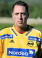 Fotball<br /> La Manga - Spania<br /> 15.02.2005<br /> Portretter Lillestrøm<br /> Foto: Morten Olsen, Digitalsport<br /> <br /> Magnus Powell