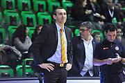 DESCRIZIONE : Eurocup 2013/14 Gr. J Dinamo Banco di Sardegna Sassari -  BCM Gravelines Dunkerque<br /> GIOCATORE : Julien Mahe<br /> CATEGORIA : Allenatore Coach<br /> SQUADRA : BCM Gravelines Dunkerque<br /> EVENTO : Eurocup 2013/2014<br /> GARA : Dinamo Banco di Sardegna Sassari -  BCM Gravelines Dunkerque<br /> DATA : 22/01/2014<br /> SPORT : Pallacanestro <br /> AUTORE : Agenzia Ciamillo-Castoria / Luigi Canu<br /> Galleria : Eurocup 2013/2014<br /> Fotonotizia : Eurocup 2013/14 Gr. J Dinamo Banco di Sardegna Sassari - BCM Gravelines Dunkerque<br /> Predefinita :