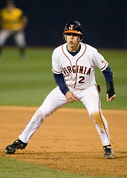 Virginia Cavaliers INF Greg Miclat (2).  The #15 ranked Virginia Cavaliers baseball team fell to the Towson Tigers 7-6 at the University of Virginia's Davenport Field in Charlottesville, VA on April 2, 2008.