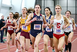 ECAC/IC4A Track and Field Indoor Championships<br /> Mile Run, Mia Nahom, UConn