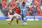 Gaetan Bong of Brighton & Hove Albion on the ball during the Sky Bet Championship match between Brighton and Hove Albion and Nottingham Forest at The American Express Community Stadium, Brighton and Hove, England on 7 August 2015. Photo by Phil Duncan.