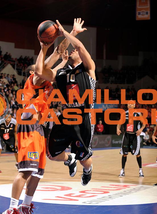 DESCRIZIONE : Ligue France Pro A Msb Le Mans Orleans<br /> GIOCATORE : Curti Aldo<br /> SQUADRA : Orleans <br /> EVENTO : FRANCE Ligue  Pro A 2009-2010<br /> GARA : Le Mans Orleans<br /> DATA : 23/01/2010<br /> CATEGORIA : Basketball Pro A <br /> SPORT : Basketball<br /> AUTORE : JF Molliere par Agenzia Ciamillo-Castoria <br /> Galleria : France Ligue Pro A 2009-2010 <br /> Fotonotizia : Ligue France 2009-10 Pro A Msb Le Mans Orleans <br /> Predefinita :
