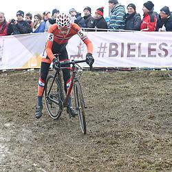 27-01-2017: Wielrennen: Wereldkampioenschap veldrijden: Luxemburg<br />BIELES (LUX) cyclocross  <br />Bart Artz