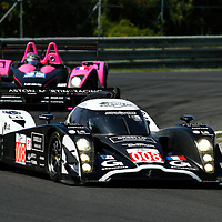Ragues/Mailleux/Ickx-Signature Plus Lola Aston Martin (008); Hein/Moreau-Oak Racing Pescarolo Judd (35), Le Mans Series 1000 Kilometres Hungaroring 2010