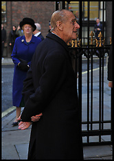 NOV 01 2012-THE QUEEN AND THE DUKE OF EDINBURGH  A UNVEIL THE DIAMOND JUBILEE WINDOW