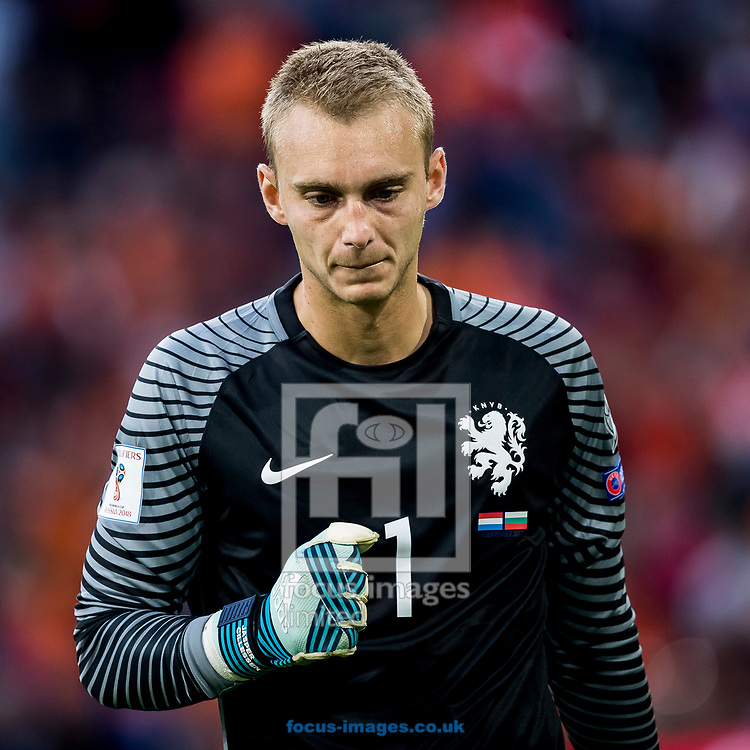 Jasper Cillessen of Netherlands after the 2018 FIFA World Cup Qualifying match at Amsterdam Arena, Amsterdam<br /> Picture by Joep Joseph Leenen/Focus Images Ltd +316 5261929<br /> 03/09/2017<br /> ***NETHERLANDS OUT***