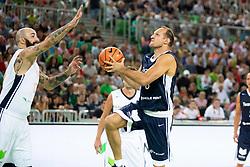 Igor Rakocevic during basketball event Kosarkaska simfonija - last offical basketball match of Bostjan Nachbar and Sani Becirovic, on August 30, 2018 in Arena Stozice, Ljubljana, Slovenia. Photo by Urban Urbanc / Sportida