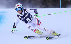 27.01.2018, Lenzerheide, SUI, FIS Weltcup Ski Alpin, Lenzerheide, Riesenslalom, Damen, im Bild Eva-Maria Brem (AUT) // Eva-Maria Brem of Austria in action during the ladie's Giant Slalom of FIS ski alpine world cup in Lenzerheide, Austria on 2018/01/27. EXPA Pictures © 2018, PhotoCredit: EXPA/ Sammy Minkoff<br /> <br /> *****ATTENTION - OUT of GER*****