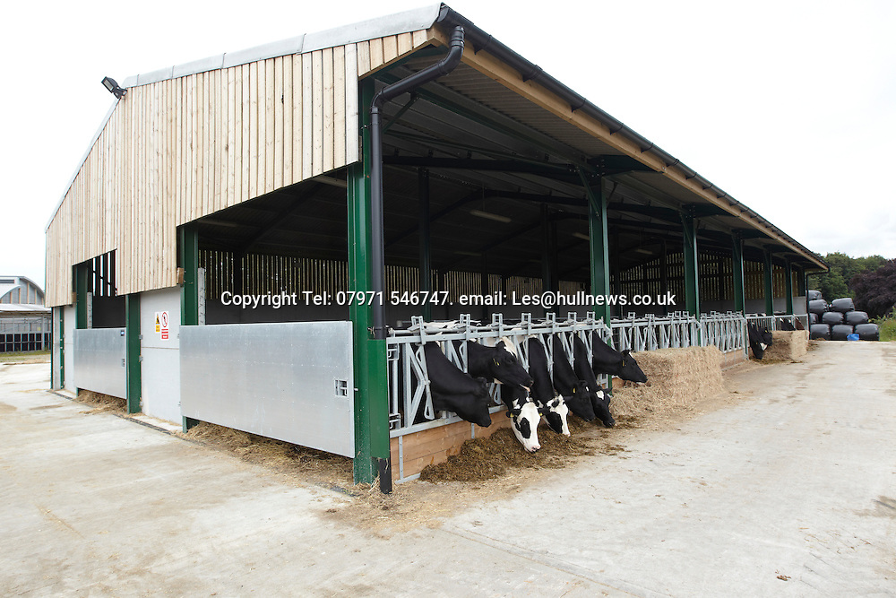 30th June 2014<br /> New cattle sheds, Bishop Burton College, East Yorkshire