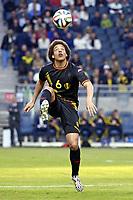 Fotball , 1. juni 2014 , Sverige - Belgia<br /> belgiens Axel Witsel <br /> <br /> NORWAY ONLY