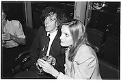 Lady Anne Lambton and Barnaby Harrod. Lord Antony Lambton book party, Arts Club. 19 September 1983. © Copyright Photograph by Dafydd Jones 66 Stockwell Park Rd. London SW9 0DA Tel 020 7733 0108 www.dafjones.com