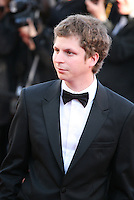 Actor Michael Cera at The Immigrant film gala screening at the Cannes Film Festival Friday 24th May May 2013