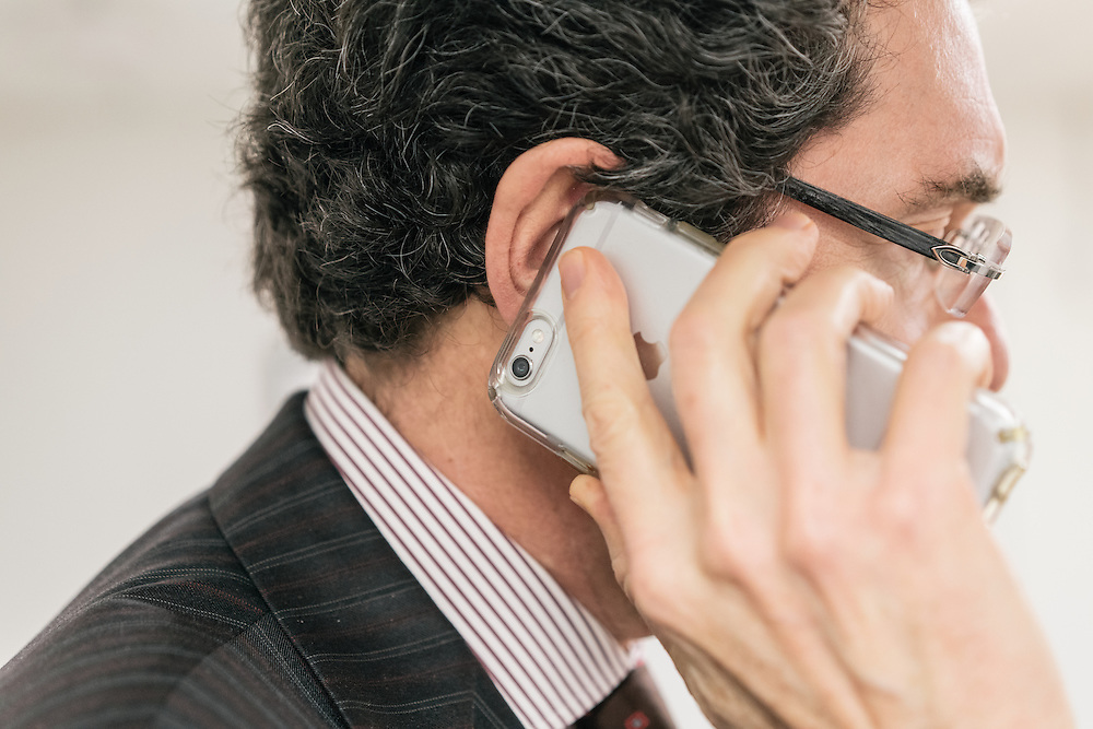 Norman Eisen, current fellow at the Brookings Institution, and former Ambassador to Czech Republic, as well as Special Counsel and Special Assistant to President Obama, is interviewed over the phone at the Brookings Institution in Washington, D.C. on Dec. 5, 2016.