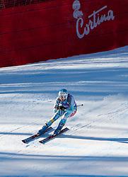 13.01.2012, Pista Olympia delle Tofane, Cortina, ITA, FIS Weltcup Ski Alpin, Damen, Abfahrt, 2. Training, im Bild Julia Mancuso (USA) // Julia Mancuso of USA during ladies downhill 2nd training of FIS Ski Alpine World Cup at 'Pista Olympia delle Tofane' course in Cortina, Italy on 2012/01/13. EXPA Pictures © 2012, PhotoCredit: EXPA/ Johann Groder