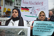 Afghan Anti-deportation protest