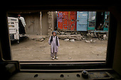 Afghanistan through an armored window