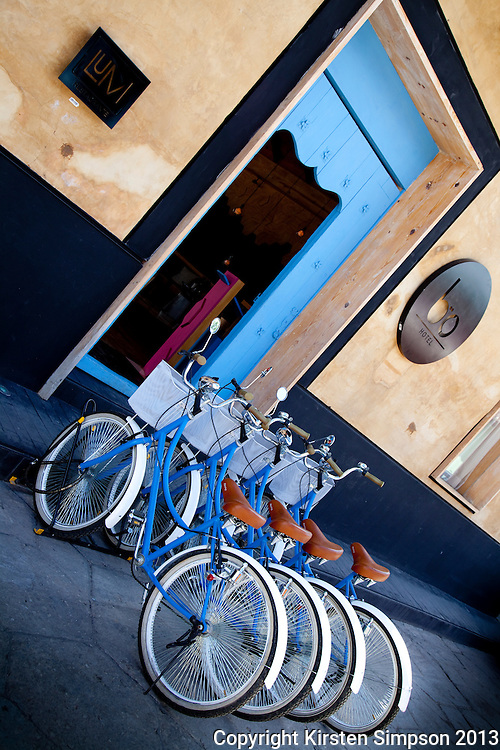 Hotel Bo bicycles in San Cristóbal
