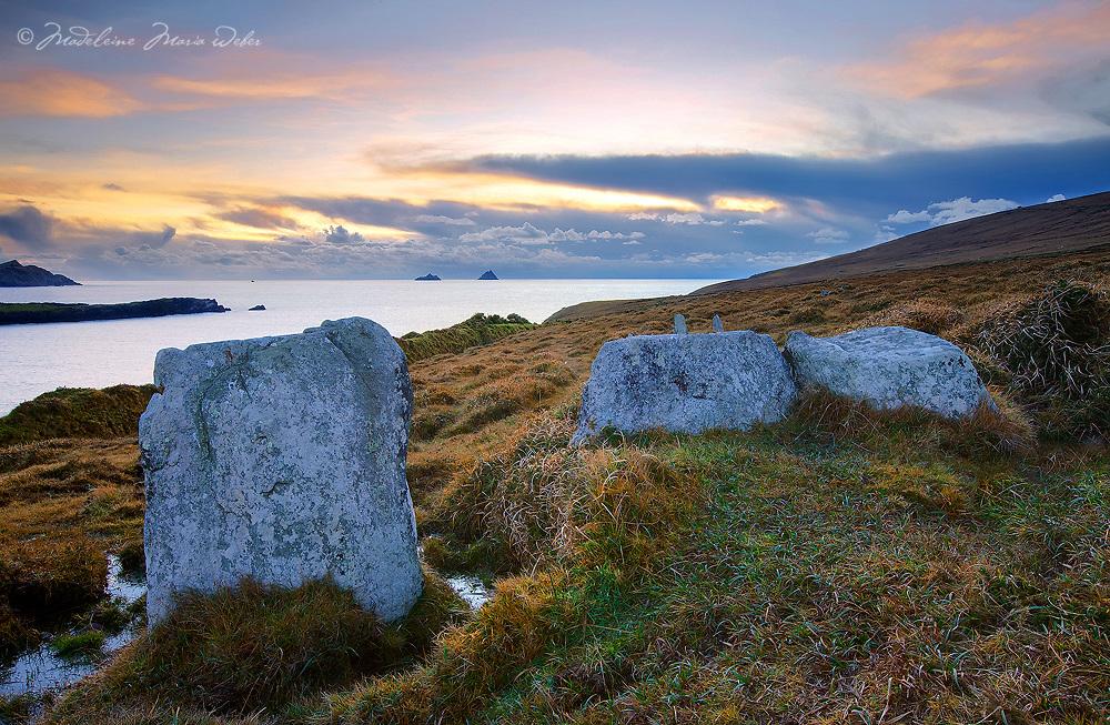 Standing Stones Valentia Island Ireland / vl116