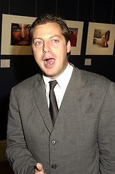 MR MATHEW FREUD the leading PR, at a party in London on 25th September 2000.OHH 31