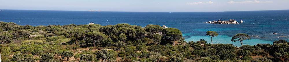 Corsica south. Palombagio beach near porto vechio,   /  la plage de Palombagio   pres de Porto vechio, Corse du sud