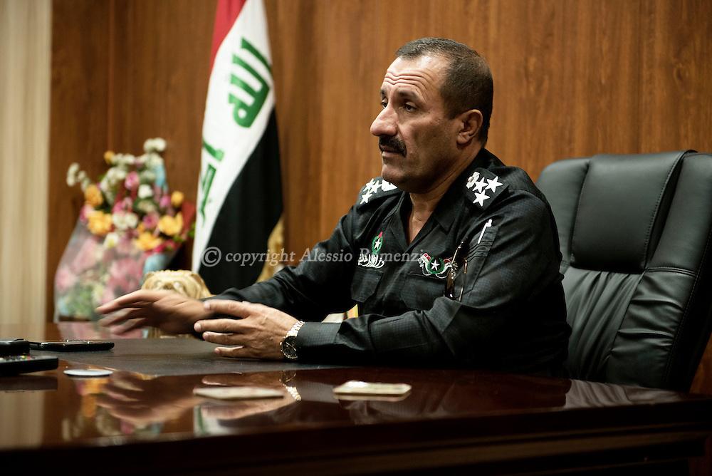 Iraq, Kirkuk: General Sarhad Qadir. Alessio Romenzi