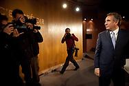 30112011. Paris. Conférence de presse de François Bayrou sur l'agenda 2012-2020.