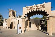 Bur Dubai. Dubai heritage Village.