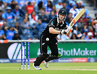 Cricket - 2019 ICC Cricket World Cup - Semi-Final: India vs. New Zealand<br /> <br /> New Zealand's Jimmy Neesham in action today during the ICC Cricket World Cup match between India and New Zealand, at Old Trafford, Manchester.<br /> <br /> COLORSPORT/ASHLEY WESTERN