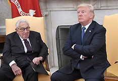 President Trump Meets With Henry Kissinger - 10 Oct 2017