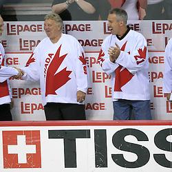 20080506: Ice Hockey - Canadaís 1976 Canada Cup team in Halifax