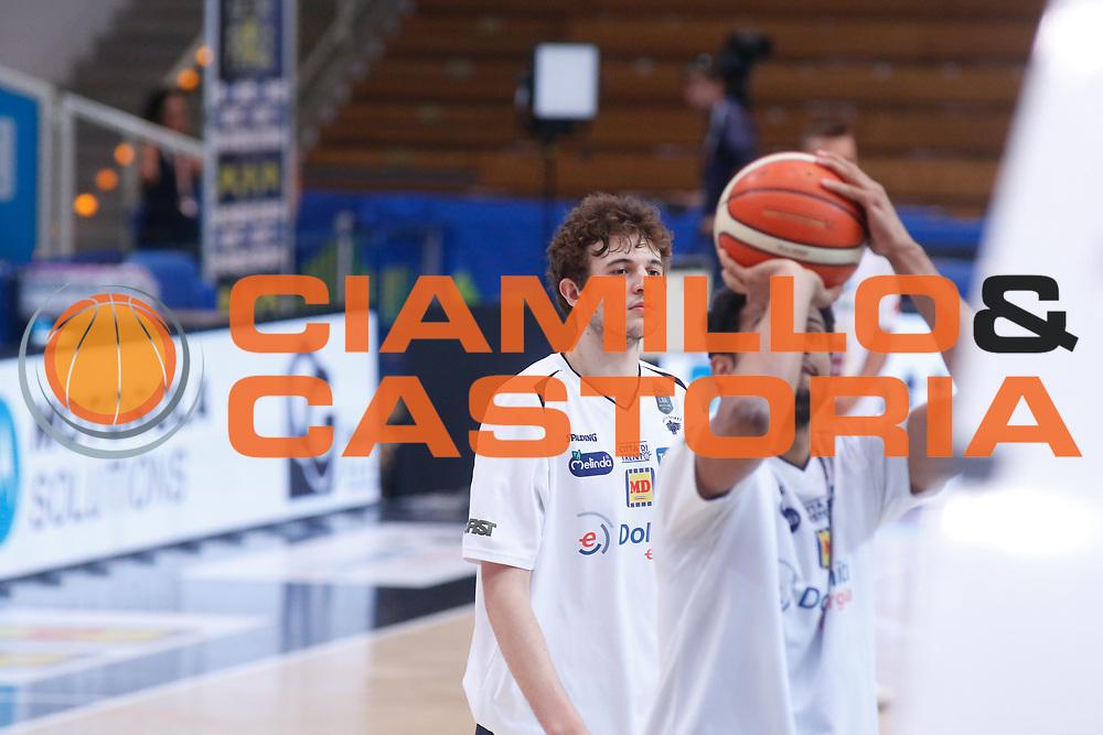 Isacco Lovisotto<br /> Dolomiti Energia Aquila Basket Trento - Umana Reyer Venezia <br /> Lega Basket Serie A 2016/17 Finali Gara 03<br /> Trento, 14/06/2017<br /> Foto Ciamillo-Castoria / M. Brondi