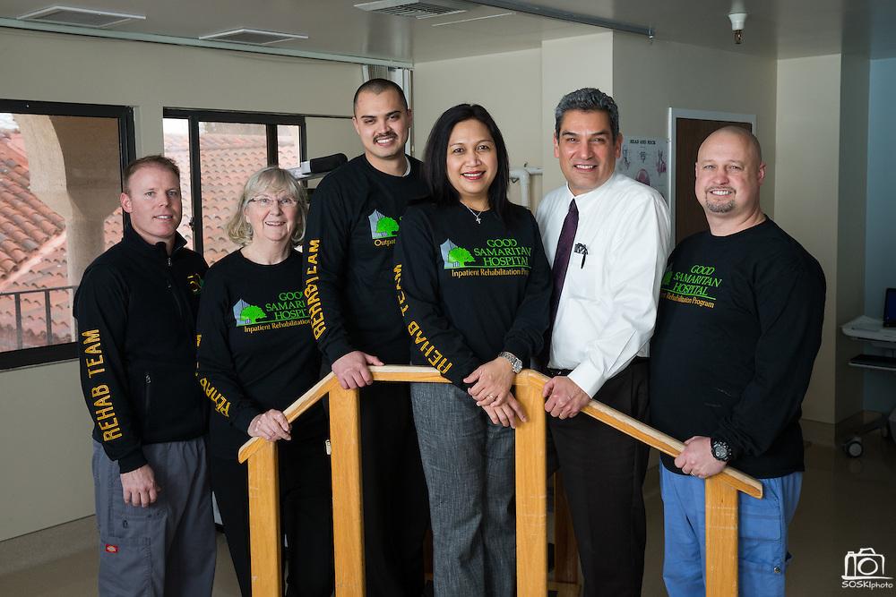 Good Samaritan Hospital Inpatient Rehabilitation Program photographed at their Mission Oaks Campus in Los Gatos, California, on January 23, 2017. (Stan Olszewski/SOSKIphoto)