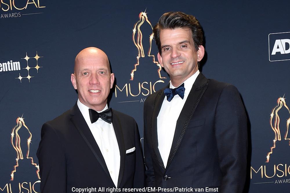 Musical Awards Gala 2016 in het Beatrix Theater Utrecht<br /> <br /> Op de foto:  Maurice Wijnen en partner