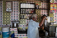 Tea shop in Chennai, Tamil Nadu, India