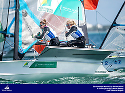 From 27 January to 3 February 2019, Miami will host sailors for the second round of the 2019 Hempel World Cup Series in Coconut Grove. More than 650 sailors from 60 nations will race across the 10 Olympic Events. ©JESUS RENEDO/SAILING ENERGY/WORLD SAILING<br /> 02 February, 2019.