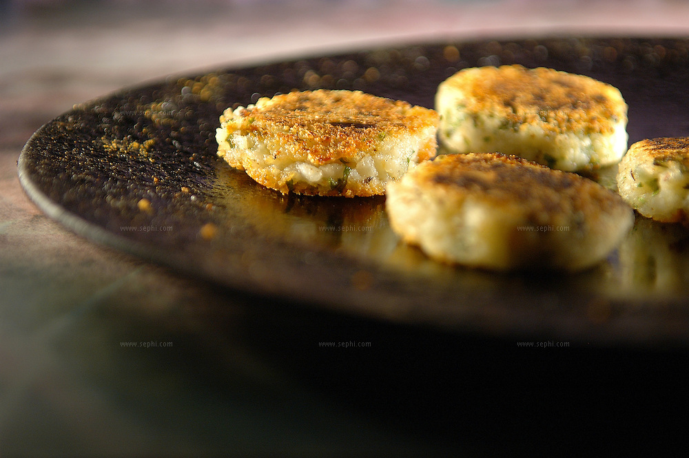 Aloo Tikki - Potato pattie ( Recipe available upon request )