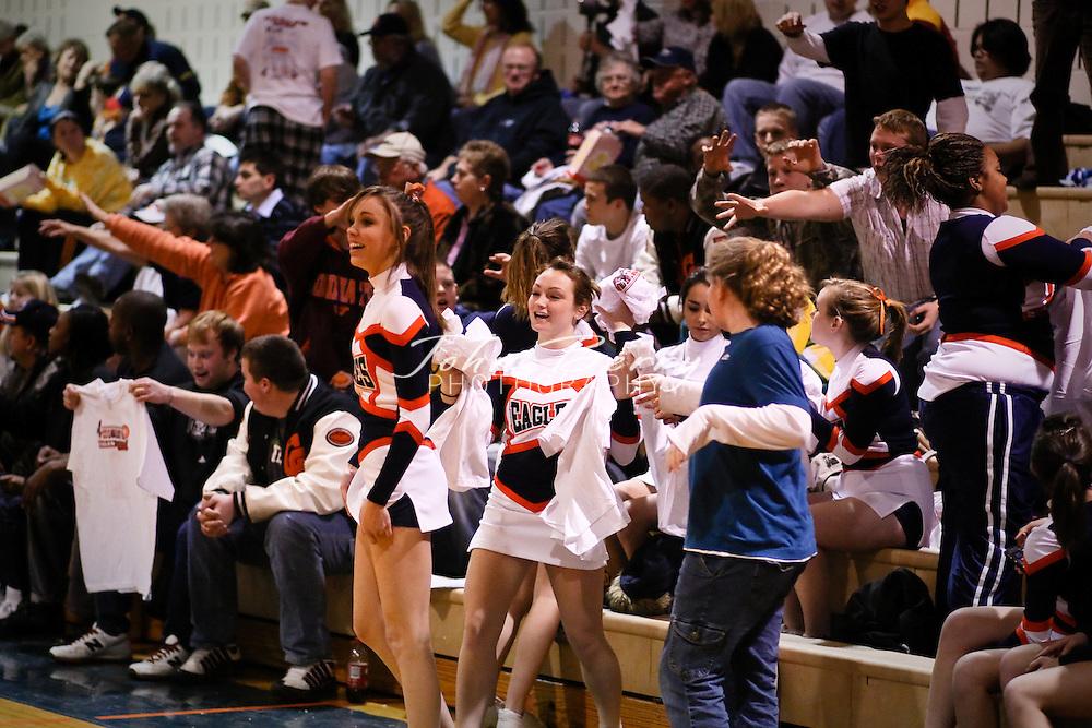 MCHS Varsity Boys Basketball .vs Clarke .2/4/2009