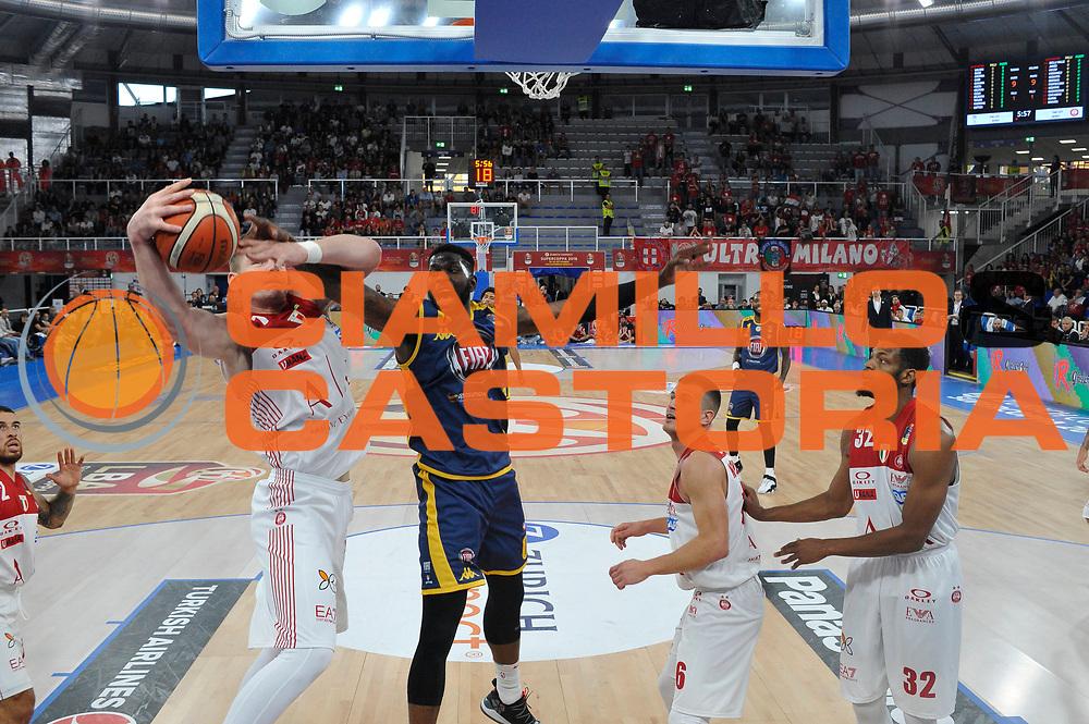 Wilson Jamil<br /> A|X Armani Exchange Milano - Fiat Torino<br /> Zurich Connect Supercoppa 2018-2019<br /> Lega Basket Serie A<br /> Brescia 30/09/2018<br /> Foto Ciamillo & Castoria