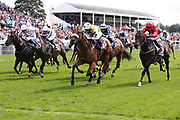 DAKOTA GOLD (3) ridden by Connor Beasley and trained by Michael Dods winning The Sky Bet And Symphony Group Stakes over 5f (£70,000)during the Ebor Festival at York Racecourse, York, United Kingdom on 21 August 2019.